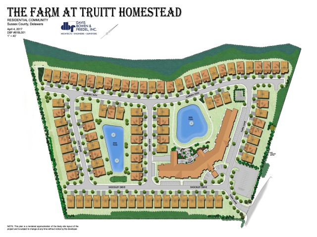 Truitt Homestead Rehoboth Beach Site Plan 2